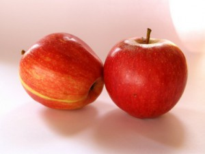 тайны внутри яблока
