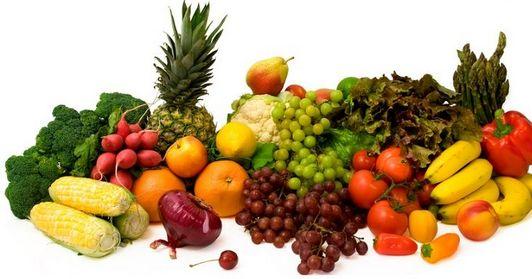 И снова овощи и фрукты