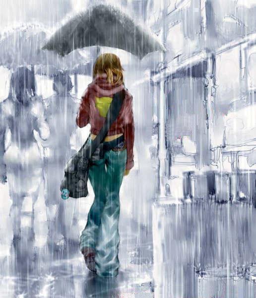 Как влияет дождь на настроение людей