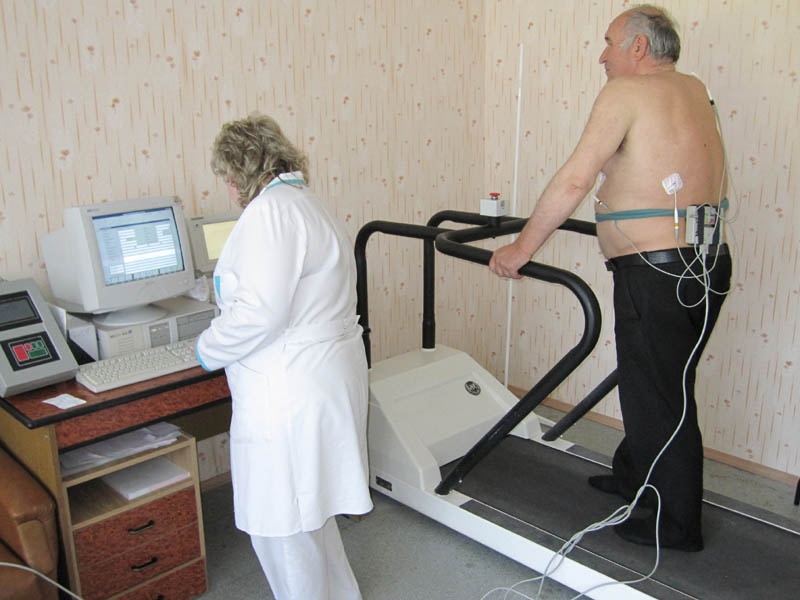Физическая реабилитация больных, перенесших инфаркт