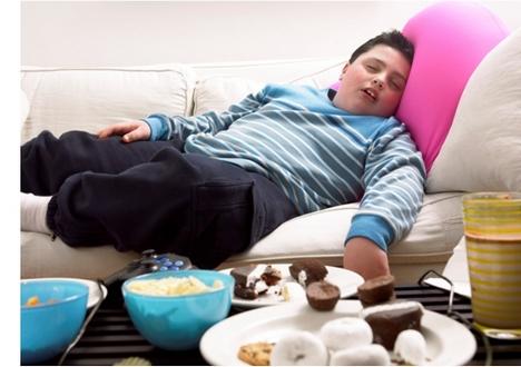 Причина ожирения у детей