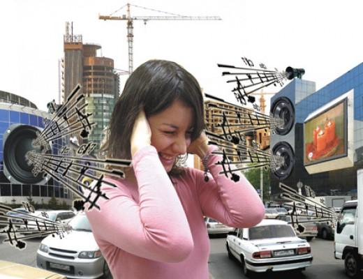 Сильный шум опасен для слуха