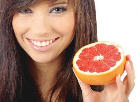 Грейпфрут помогает похудеть