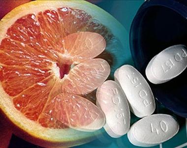 Совместимость продуктов и лекарств