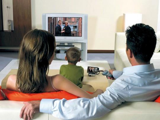 Телевизор полезен для мужчин