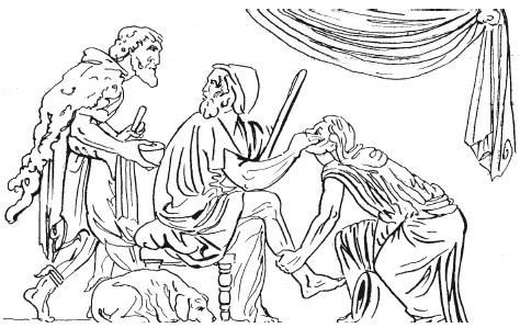 Массаж в древней Элладе