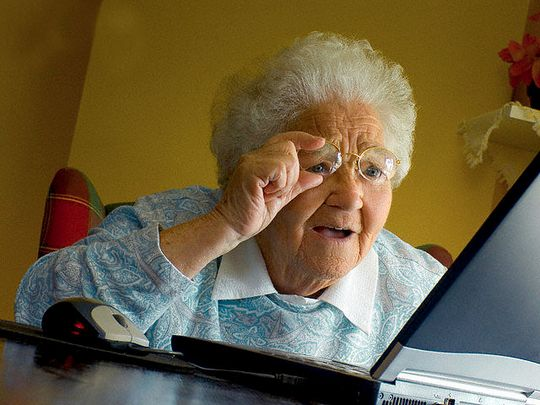 Влияние интернета на старение