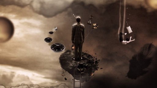 Фантастика-fantasy-сон-подсознание-человек-лестница-3000x2000