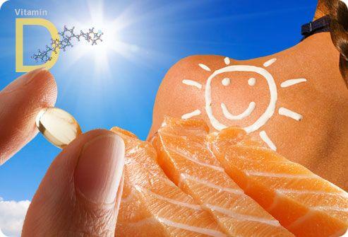 Витамин D для зимнего периода