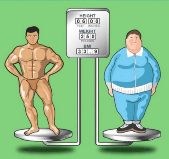 Индекс массы тела - неадекватная оценка