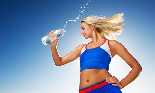 Питьевой режим во время физической нагрузки