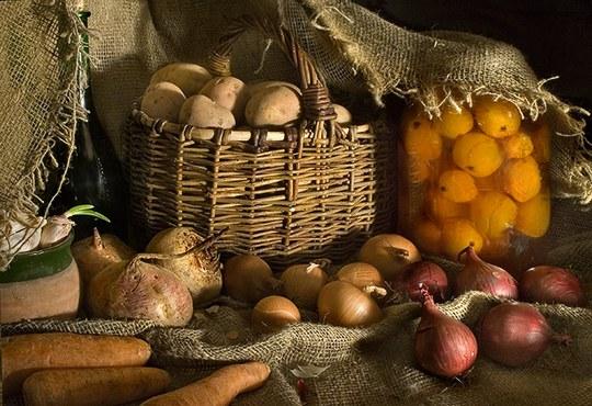 Как сохранить овощи