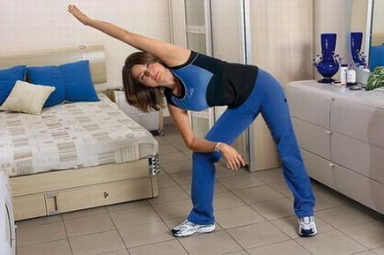 Два упражнения бодифлекс для лица и талии
