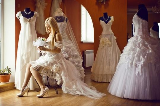 Свадьба - образ невесты
