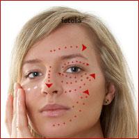 Очищение кожи лица и шеи растительным маслом