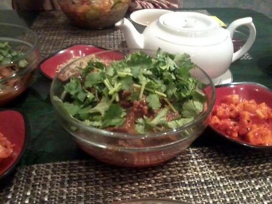 Кя хе - блюдо корейской кухни