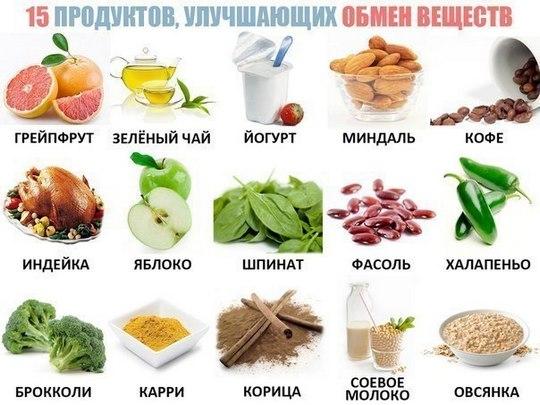 Метаболизм и калории