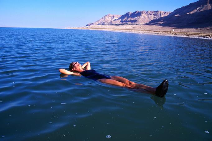 Целебное Мертвое море