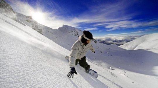 Сноуборд - риск и удовольствие