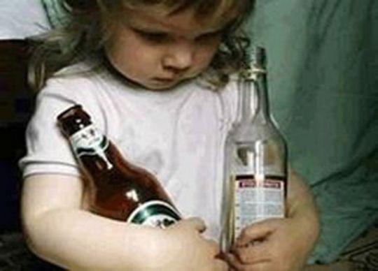 Дети, рожденные от отцов-алкоголиков