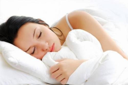 Женщина должна спать