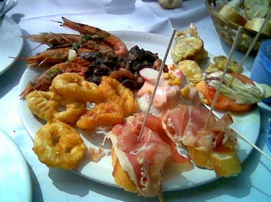 Тапас по-испански - стиль жизни