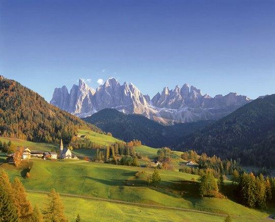 Доломитовые Альпы - идеальный выбор для отдыха