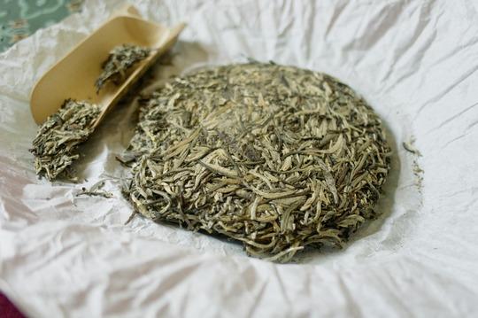 Способ хранения белого чая