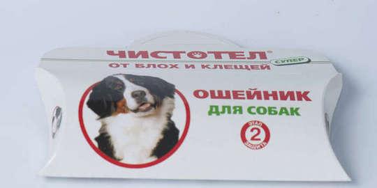Инсектицидный ошейник для собак