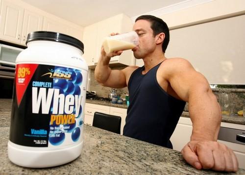 Протеины в спортивной диете